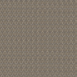 Taupe Geometric Fabric Maze Work Brindle