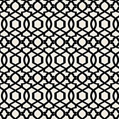 Trellis Fabric black & white trellis fabric | sultan pepper black | loom decor