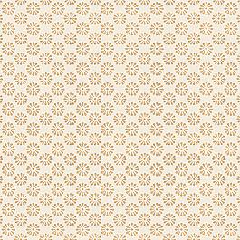 Metallic Gold Dot Fabric Fine & Dandy Gilt
