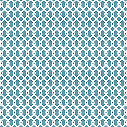 Small Aqua Geometric Fabric Mazing Grace Aqua