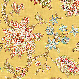 Delicate Yellow Floral Fabric On the Bright Side Mimosa