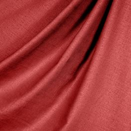 Crimson Red Linen Fabric Classic Pure Linen Crimson