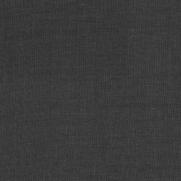Lightweight Black Linen Fabric Classic Pure Linen Black