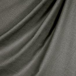 Charcoal Gray Linen Fabric Classic Linen Iron