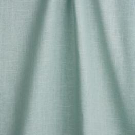Muted Aqua Linen Fabric Classic Linen Aqua Tint