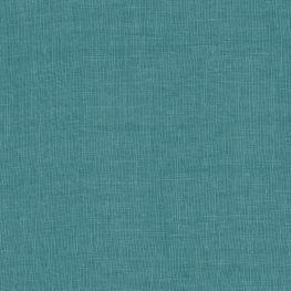 Dark Teal Linen Fabric Classic Linen Nile