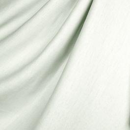 Pale Seafoam Slubby Linen Fabric Lush Pure Linen Dew