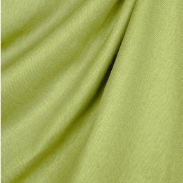 Grass Green Slubby Linen Fabric Lush Pure Linen Moss