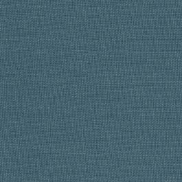 Dark Navy Slubby Linen Fabric | Lush Linen Midnight
