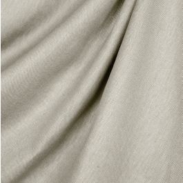 Beige Slubby Linen Fabric | Lush Linen Natural