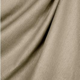 Light Taupe Linen Fabric | Lush Linen Mink