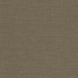 Dark Brown Slubby Linen Fabric | Lush Linen Bark