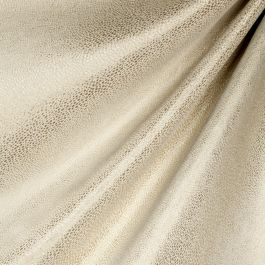 Metallic Gold Shagreen Fabric Flash Dancer Champagne