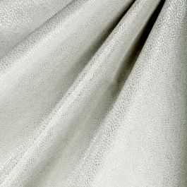 Metallic Silver Shagreen Fabric Flash Dancer Silver