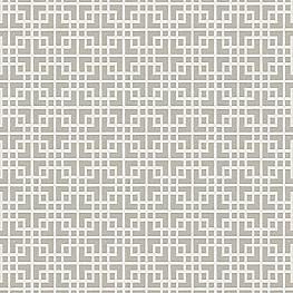 Gray Square Lattice Fabric Interlocken Pumice