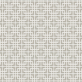 Gray Square Lattice Fabric Interlocken Pumice