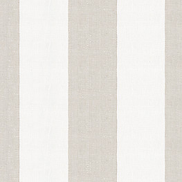 Light Beige Striped Linen Fabric Band Stand Oyster