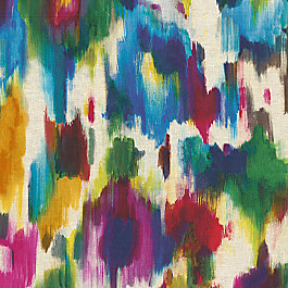 Multicolor Watercolor Fabric H2OMG! Multi