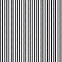 Black Ticking Stripe Fabric Little White Line Black