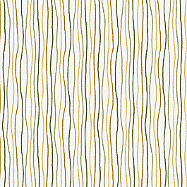 Tan & Brown Chalk Line Fabric Scribble Curry