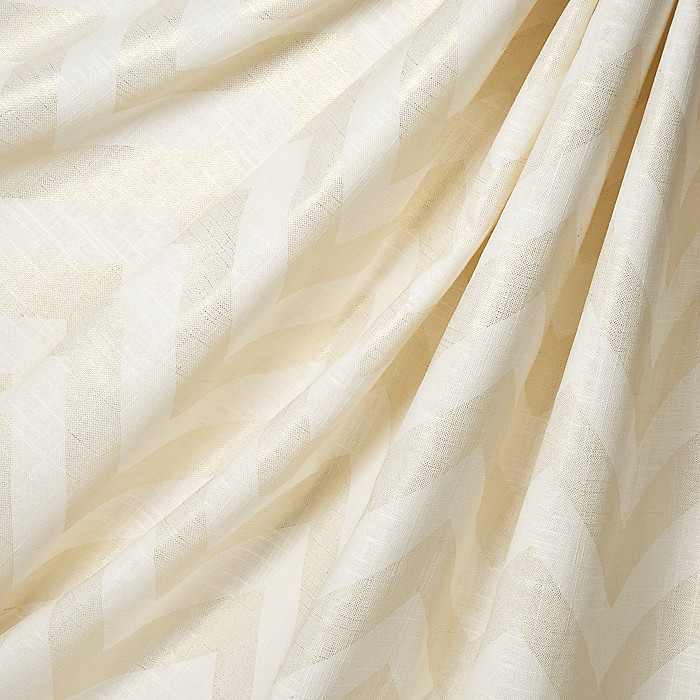 Stunning White And Gold Chevron Fabric Photos - Bathroom with ...