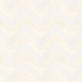 Metallic White & Gold Chevron Fabric Puttin' on the Glitz Shimmer