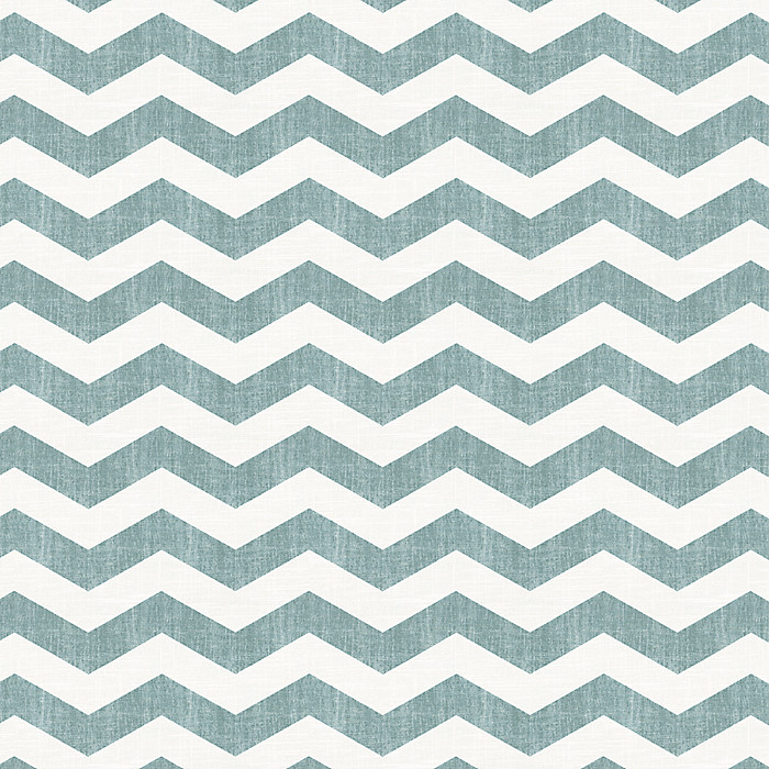 Nice Teal And White Chevron Fabric Contemporary - Bathtub for ...