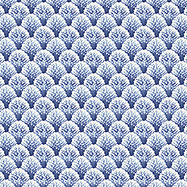 Nautical Blue Scallop Fabric Fabric Sea Scallop Marlin