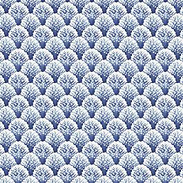 Nautical Blue Scallop Fabric Fabric Sea Scallop Marlin