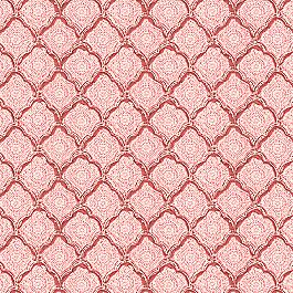 Block Print Pink Scallop Fabric Sanganer Blush
