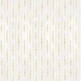 Embroidered Beige Dotted Line Fabric Fabius Sand