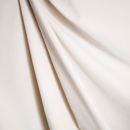 Ivory White Velvet Fabric Classic Velvet Snow