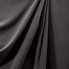 Charcoal Gray Velvet Fabric Classic Velvet Charcoal