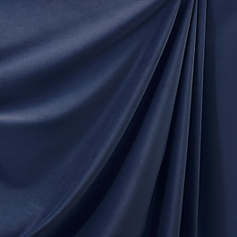 Navy Blue Velvet Fabric Classic Velvet Navy