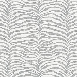 Light Gray Zebra Print Fabric | Tropo Cloud