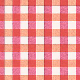 Pink & Orange Buffalo Check Fabric | Udaya Berry