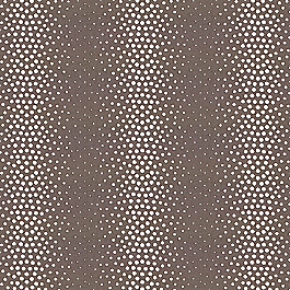 Dark Taupe Dotted Stripe Fabric | Tobi Fairley Pearl Graphite