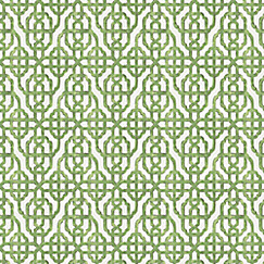 Trellis Fabric green watercolor trellis fabric | trellis like it is meadow | loom