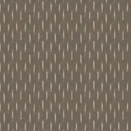 Tan & Black Dashes Fabric | Desert Rows Cinder