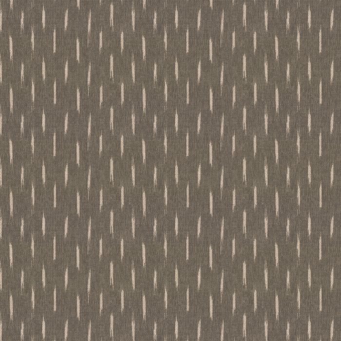 Knitted Brown Chevron Fabric | Big Zig Brown | Loom Decor