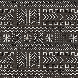 Black Woven Tribal Fabric | Play Tribal Black
