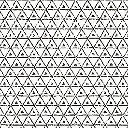 Black & White Mudcloth Fabric | Give It A Tri Black