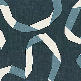 Navy Blue Ribbon Fabric | Vento Ribbon Admiral