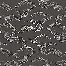 Charcoal Gray Cloud Fabric | Cloudburst Graphite