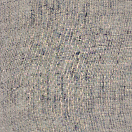 Dark Gray Gauzy Linen Fabric | Linen Sheer Cinder