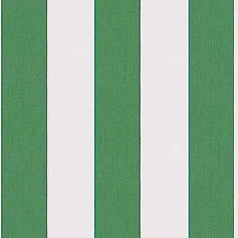 Green Awning Stripe Outdoor Fabric | Cabana Emerald