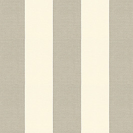 Gray Awning Stripe Outdoor Fabric | Solana Seagull