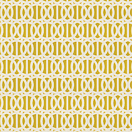 Bright Yellow Trellis Outdoor Fabric | Reflex Citron