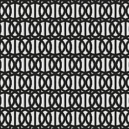 Black & White Trellis Outdoor Fabric | Reflex Classic
