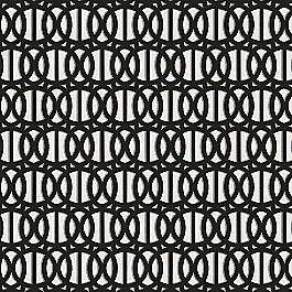 Black & White Trellis Outdoor Fabric | Reflex Classic